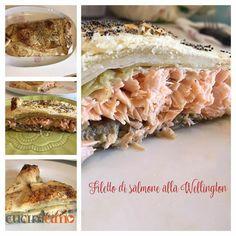 Filetto di salmone alla Wellington - fotoricetta http://cuciniamo.mammeonline.net/filetto-di-salmone-alla-wellington/