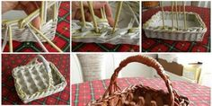 Yumurta Kolisi ve Gazetelerden Sepet Yapımı