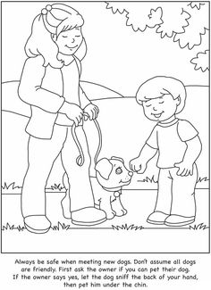 How to Care for Your Dog: A Color & Learn Guide for Kids Dover Publications