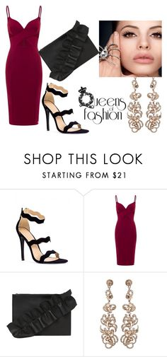 """the new red dress"" by olia7805 on Polyvore featuring MSGM"
