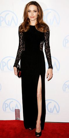 Angelin Jolie in Jimmy Choo and Michael Kors, she always looks so classic and flawless