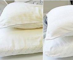 Ce truc parfait pour blanchir les oreillers est trop simple