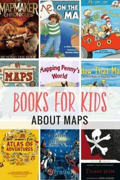 A great way to get your children interested in travel and spark their imagination is through books. Start with these 12 great books for kids about maps.. Happy Pinning!