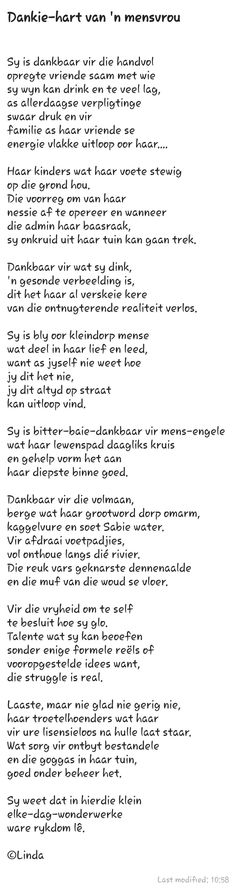 Afrikaans, Qoutes, Poems, Van, Letters, Quotations, Quotes, Poetry, Verses
