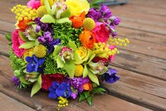 1000 Images About Colorful Bouquets On Pinterest