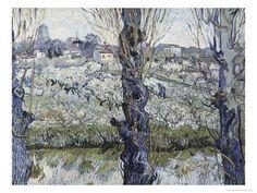 Giclee Print: View of Arles Art Print by Vincent van Gogh by Vincent van Gogh : 16x12in