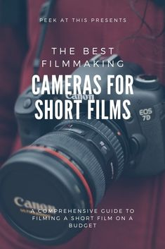 Deciding on a filmmaking camera to make a short film can be a difficult task. Every filmmaker wants his/her vision to look the best it can be on the silver screen. Top Filmmaking Cameras For Making Short Films Film Tips, Cinema Camera, Making A Movie, Film Studies, Point And Shoot Camera, Documentary Filmmaking, Photography Guide, Film Story, Short Films