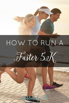 Just finished a 5K and you're ready to get faster? It's simpler than you think! Check out these four tips to help you run a faster 5K!
