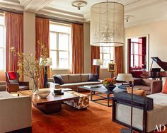 A Former Athletic Club Becomes A Posh Manhattan Apartment | Architectural Digest