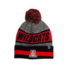 f90ba1600c2 Top Of The World Arizona Wildcats College Cumulus Knit Beanie Hat ( 2.99) ❤  liked