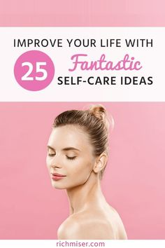 Improve Your Life With 25 Fantastic Self-Care Ideas via Rich Miser-Luxury on a Budget Daily Beauty Routine, Self Care Routine, Daily Routines, Wellness Tips, Health And Wellness, Health Fitness, Mental Health, Self Development Books, Road Trip Snacks