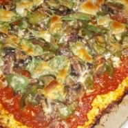 Cauliflower pizza crust w/o microwave