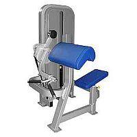 Przyrząd do ćwiczeń mięśni ramion - bicepsów. Przyrząd służy do wzmacniania mięśni dwugłowych ramion w pozycji siedzącej. Oparcie ramion i klatki piersiowej o kątowo ustawioną podpórkę zabezpiecza kręgosłup przed przeciążeniem, a bicepsy pracują w wyizolowanej pozycji.