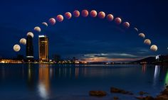 Moon Eclipse (bloody moon) by Kevin HD on 500px