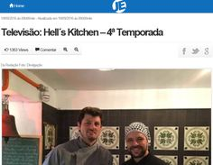 Stefano Hotel e Restaurante   Chef Franco Bruzzone   Site Jornal da Economia   Hell´s Kitchen   Outubro de 2016.