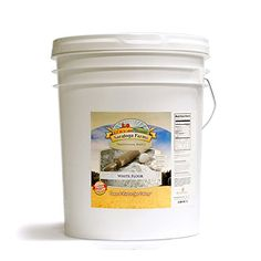 Saratoga Farms White Flour ValueBUCKET (454 Total Servings) -- Check out this great product.