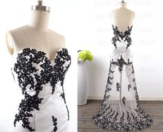 High Low Black Prom Dresses, Custom Hi-Lo Black Lace Tulle Prom Gown, Long Formal Dresses, Front Short Long Back Formal Gown    +++++++++++++++CUSTOM