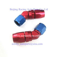 45°FEMALE FORGED ELBOW, AN Fittings, Racing Auto Parts