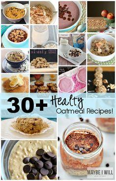 30+ Healthy Oatmeal