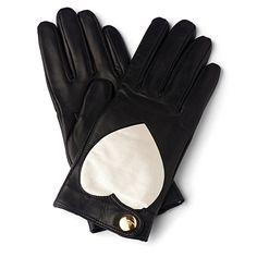 VIVIENNE WESTWOOD Heart print ladies' gloves