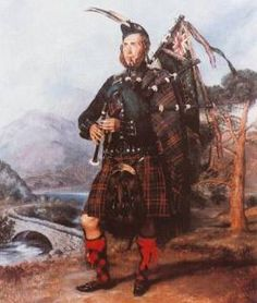 Piper Hardie of the 79th Cameron Highlanders