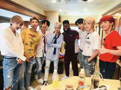 [BTS Tweet] with @ thegreatkhalid ❤ #BTS #방탄소년단
