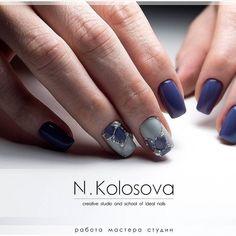 "213 Likes, 2 Comments - Ногти | Маникюр | Nails (@dizajn_nogtej) on Instagram: ""Работа @kolosova_natalia #dizajn_nogtej #маникюр #ногти #красивыйманикюр #красивыеногти…"""