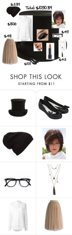 """Female John Darling"" by mollysynesael ❤ liked on Polyvore featuring Jayson Home, Melissa, Betsey Johnson, Anthony Vaccarello, Chicwish and Bite"
