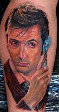 Dr. Who/ David Tennant NERD tattoo... I don't want one, but this is awesome.