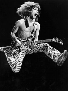 Van Halen na Forum, 1984. Foto: Paul Chinn.