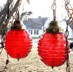 Vintage Swag Lamps for Sale | vintage swag lamp red | Swag Lamps