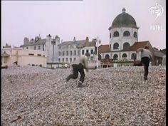 Worthing Beach and Dome 1960
