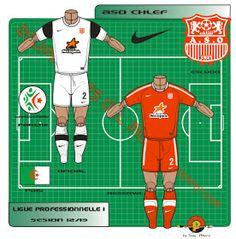 ASO Chlef of Algeria kits for Asos, Football, Shirts, Fashion, Sevilla, Soccer, Moda, Futbol, Fashion Styles