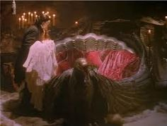Best. Thing. Ever. The Phantom placing Christine in his awesome bed when she fainted. So sweet <3