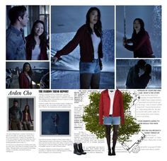 """""""Arden Cho as Kira Yukimura. { Teen Wolf - 5.01 Creatures Of The Night }"""" by albacampbell ❤ liked on Polyvore"""
