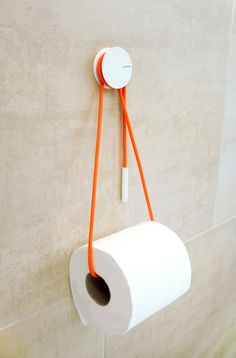 Diabolo Toilet Paper Holder by Vandiss