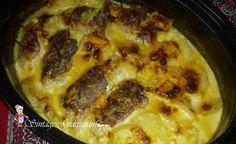 Σνίτσελ γεμιστό με κρέμα γάλακτος Pork, Beef, Chicken, Cooking, Pork Roulade, Baking Center, Pigs, Koken, Cook