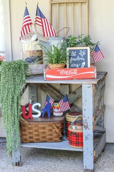 Home Interior Hamptons .Home Interior Hamptons Fourth Of July Decor, 4th Of July Decorations, 4th Of July Party, July 4th, Table Decorations, Patriotic Crafts, July Crafts, Patriotic Party, Americana Crafts