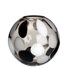 """Vase """"Sfera"""" - Modell 1756/M.LNG - Größe Medium - Carlo Moretti - Murano Glas"""