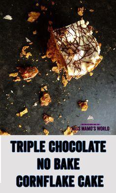 ⋆Chocolate Marshmallow Cornflake Tray Bake ⋆