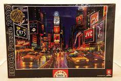 Puzzle educa puzzle de 33600 piezas puzzle vida salvaje ref times square new york 2000 piece jigsaw puzzle educa glue box top easel 37x26 gumiabroncs Images
