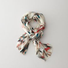 CACHAREL  REFLECTION PRINT SCARF. I totally thought I NEEEEDED this until I looked at the price tag. For $325 I can live without.