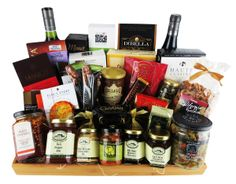 This all kosher gift basket is perfect for hannukah! Kosher Gift Baskets, Wine Gift Baskets, Gourmet Gift Baskets, Kosher Wine, Hannukah, Coffee, Cool Stuff, Drinks, Gifts