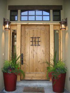 exterior home front door