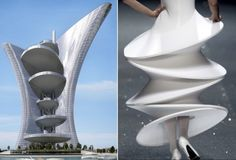 Architizer Blog » Will This Giant Glass Skirt By Pierre Cardin Be Venice's First Skyscraper?