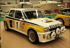 Renault Rally Car
