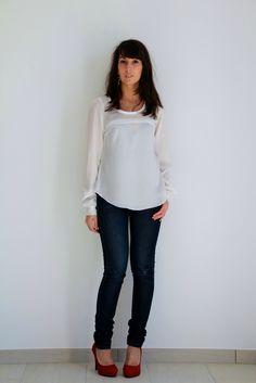 Aubépine version blouse, By Sandra's Hand