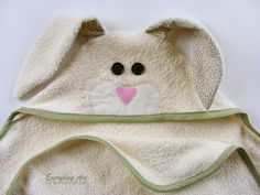 Everyday Art: Hooded Towel Patterns - Giveaway!!!