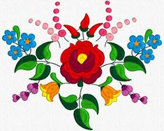 Beautiful Kalocsa Design/ embroidery pattern for sale. Hungarian Embroidery, Folk Embroidery, Learn Embroidery, Geometric Embroidery, Embroidery Designs, Machine Embroidery Patterns, Chain Stitch Embroidery, Embroidery Stitches, Stitch Head