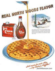 Log Cabin - 1950